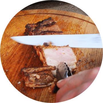 Kaap Hoorn Terschelling barbeque snijden